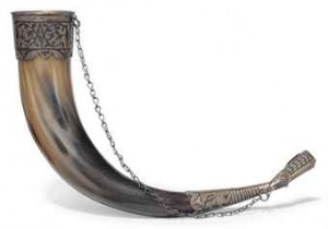 a_georgian_silver-mounted_drinking_horn_caucasus_late_19th_early_20th_d5422483h