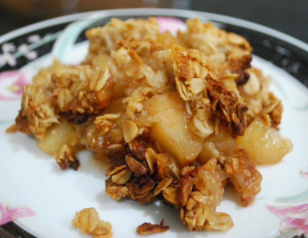 apple granola strudle