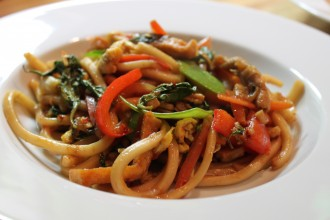 spicy drunken noodles
