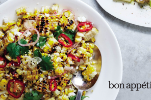 Grilled Tilapia with Corn and Cherry Tomato Salsa