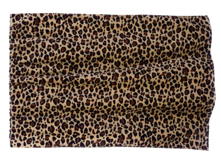 Leopard Velour Towel
