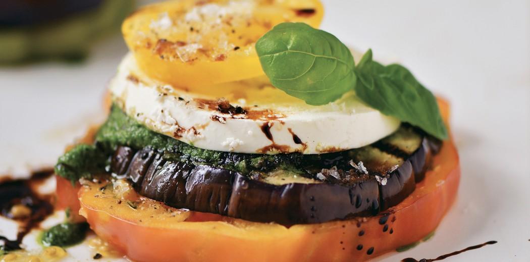 Eggplant-Tomato-Mozzarella