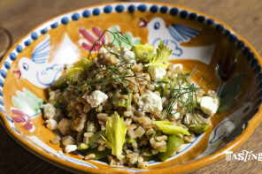 Farro Verde with Feta and Olives
