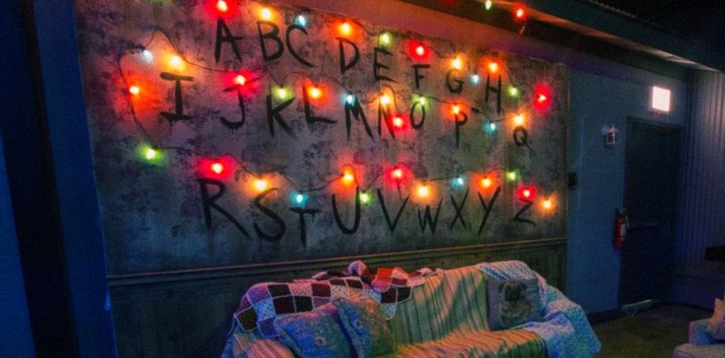 level eleven excited for this stranger things pop up bar