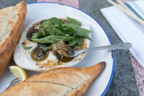Escargots with Thai Basil-Curry Butter