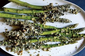 Super Savory Seed-Crusted Asparagus